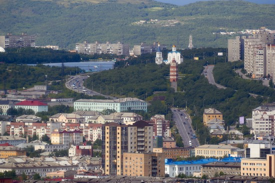 Murmansk - the views from the heights, Russia, photo 8