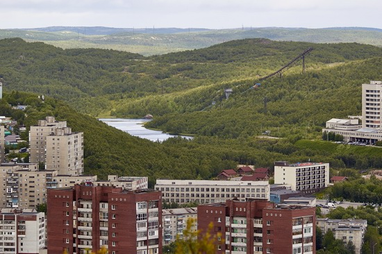 Murmansk - the views from the heights, Russia, photo 9