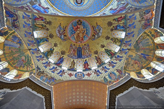 Interior of the Naval Cathedral in Kronstadt, Russia, photo 13