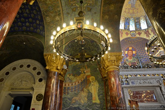 Interior of the Naval Cathedral in Kronstadt, Russia, photo 16