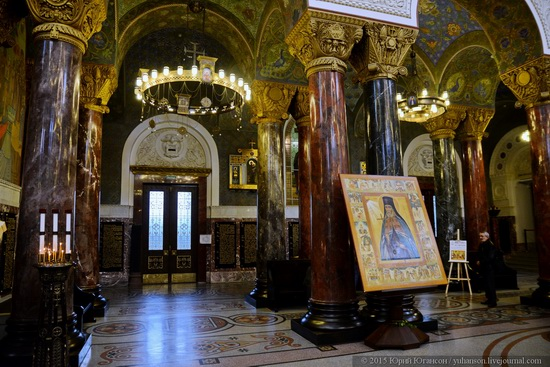 Interior of the Naval Cathedral in Kronstadt, Russia, photo 21