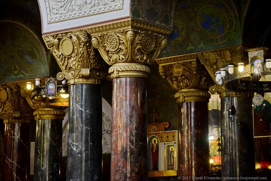 Interior of the Naval Cathedral in Kronstadt, Russia, photo 23