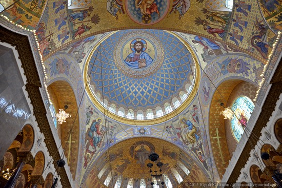 Interior of the Naval Cathedral in Kronstadt, Russia, photo 3