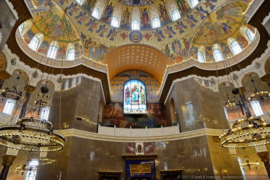 Interior of the Naval Cathedral in Kronstadt, Russia, photo 4