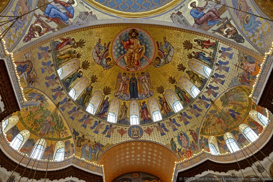 Interior of the Naval Cathedral in Kronstadt, Russia, photo 5