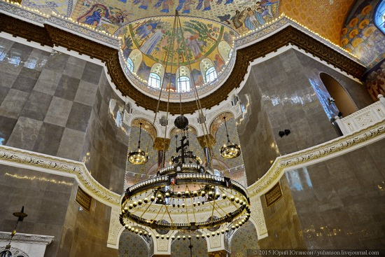 Interior of the Naval Cathedral in Kronstadt, Russia, photo 6
