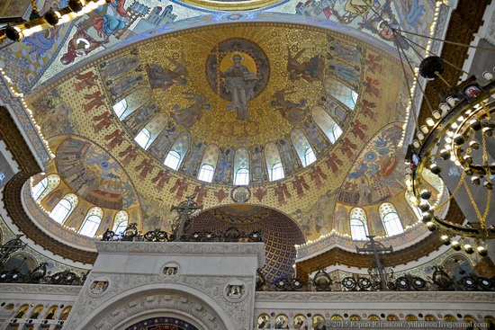 Interior of the Naval Cathedral in Kronstadt, Russia, photo 9