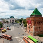 Nizhny Novgorod – the view from above