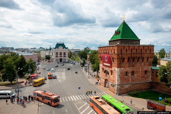 Nizhny Novgorod - the view from above, Russia, photo 1