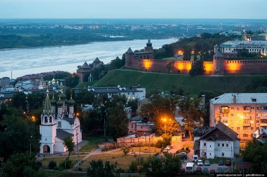 Nizhny Novgorod - the view from above, Russia, photo 11