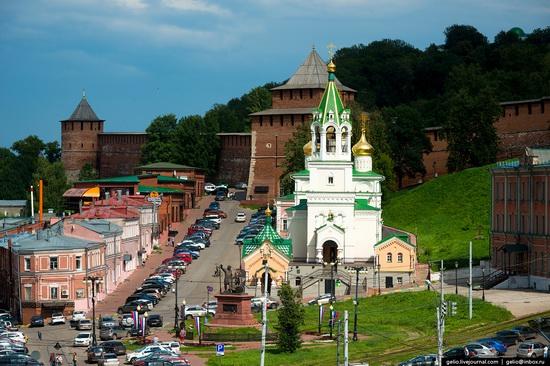 Nizhny Novgorod - the view from above, Russia, photo 12