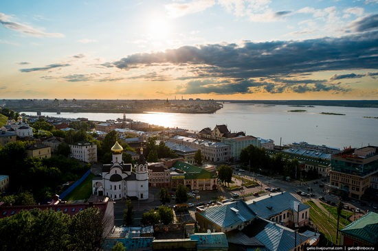 Nizhny Novgorod - the view from above, Russia, photo 13