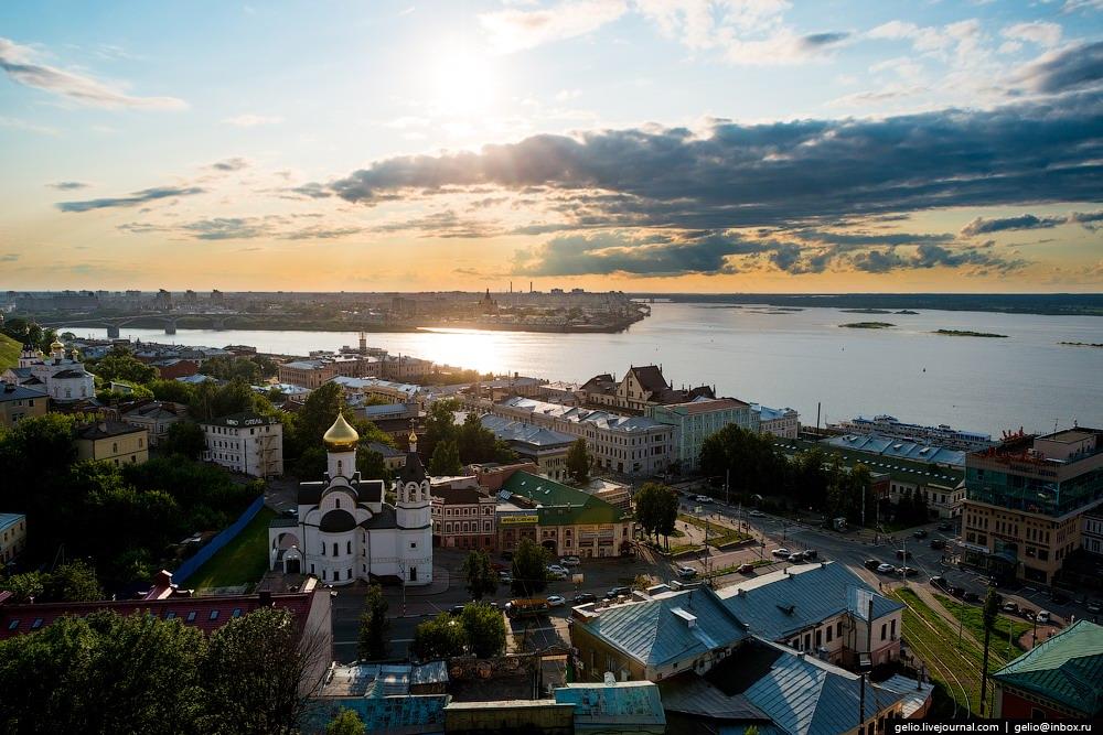Nizhny Novgorod Russia  City new picture : Nizhny Novgorod – the view from above · Russia travel blog