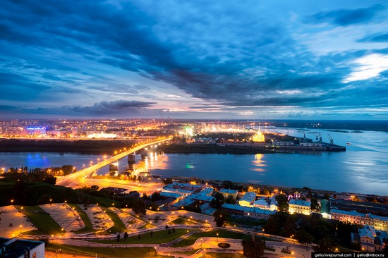 Nizhny Novgorod - the view from above, Russia, photo 19