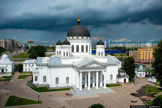 Nizhny Novgorod - the view from above, Russia, photo 22