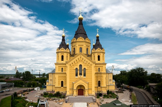 Nizhny Novgorod - the view from above, Russia, photo 23