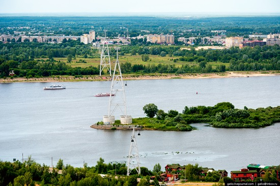 Nizhny Novgorod - the view from above, Russia, photo 25