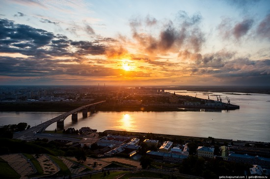 Nizhny Novgorod - the view from above, Russia, photo 26
