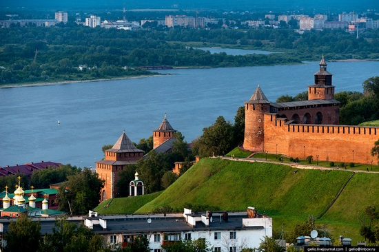 Nizhny Novgorod - the view from above, Russia, photo 3
