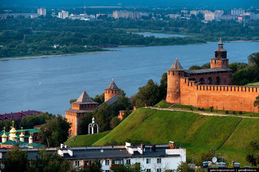Nizhny Novgorod Russia  city photos gallery : Nizhny Novgorod – the view from above · Russia travel blog