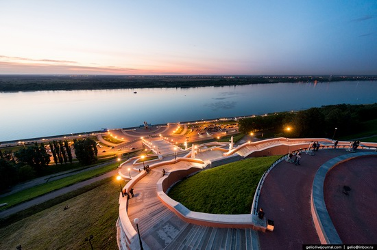 Nizhny Novgorod - the view from above, Russia, photo 4