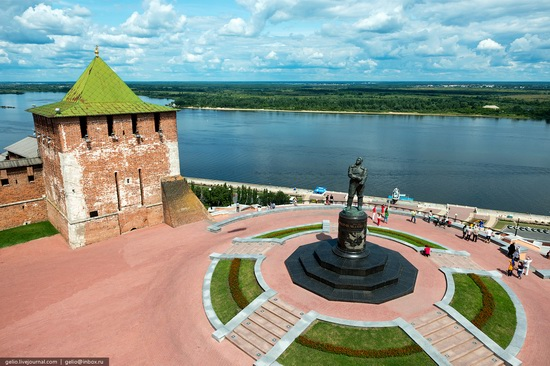 Nizhny Novgorod - the view from above, Russia, photo 5