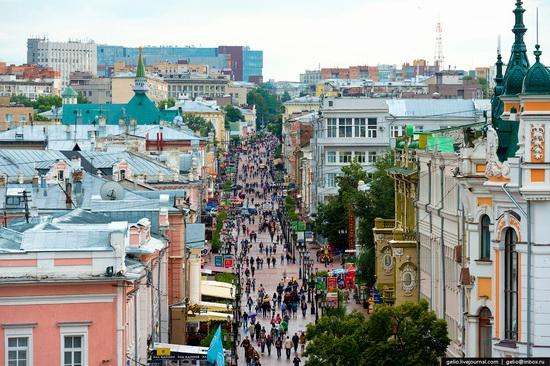 Nizhny Novgorod - the view from above, Russia, photo 7