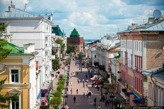 Nizhny Novgorod - the view from above, Russia, photo 8