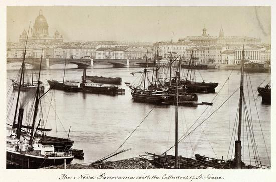 Saint Petersburg in 1874, Russia, photo 14