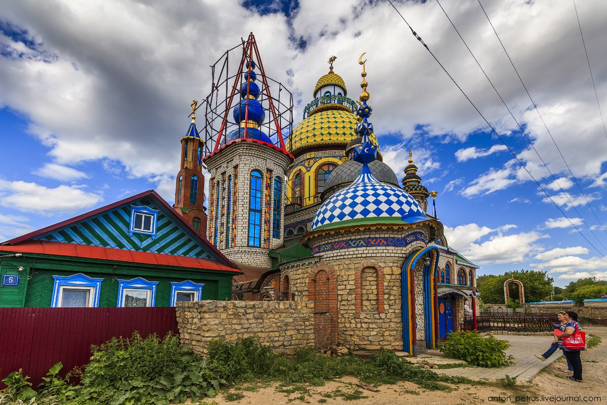 the temple of all religions in kazan  u00b7 russia travel blog
