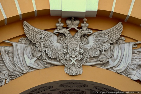 The Admiralty building, Saint Petersburg, Russia, photo 11