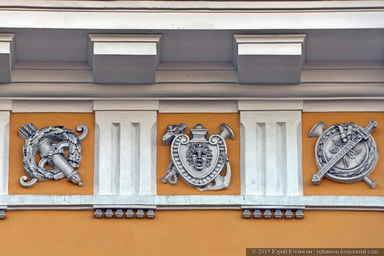 The Admiralty building, Saint Petersburg, Russia, photo 12