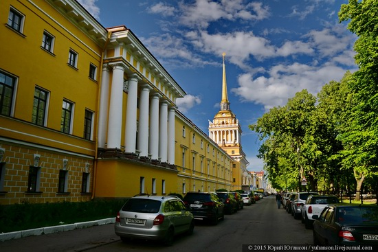 The Admiralty building, Saint Petersburg, Russia, photo 15