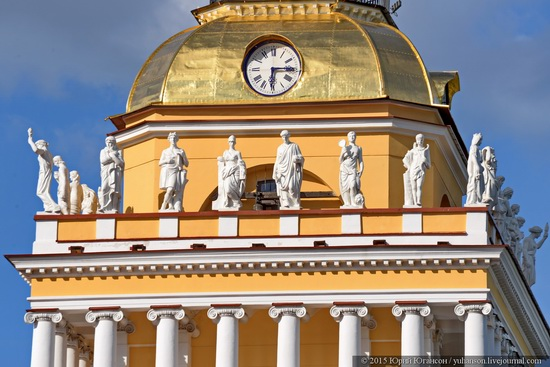The Admiralty building, Saint Petersburg, Russia, photo 17