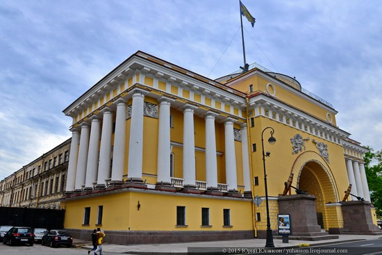 The Admiralty building, Saint Petersburg, Russia, photo 21