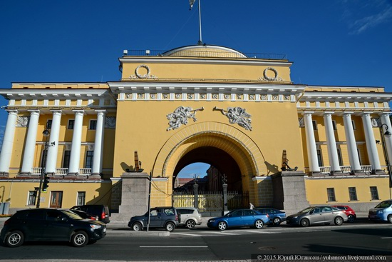 The Admiralty building, Saint Petersburg, Russia, photo 22