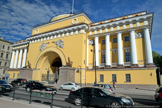 The Admiralty building, Saint Petersburg, Russia, photo 25