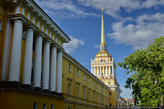 The Admiralty building, Saint Petersburg, Russia, photo 3