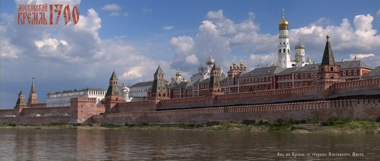 Moscow Kremlin in 1700, picture 3