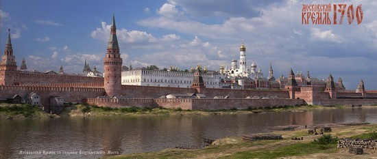 Moscow Kremlin in 1700, picture 5