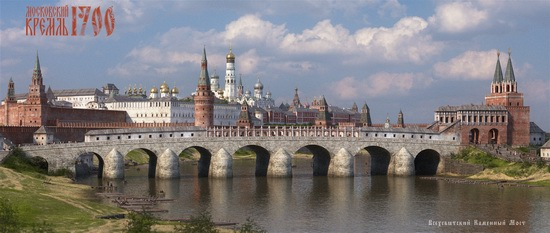 Moscow Kremlin in 1700, picture 6