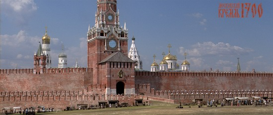 Moscow Kremlin in 1700, picture 8