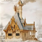 The motives of Russian architecture in 1873-1880