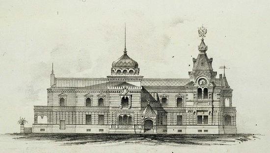 The motives of Russian architecture in 1873-1880, picture 10