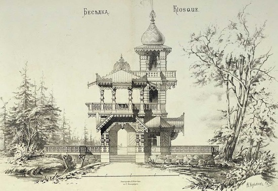 The motives of Russian architecture in 1873-1880, picture 2