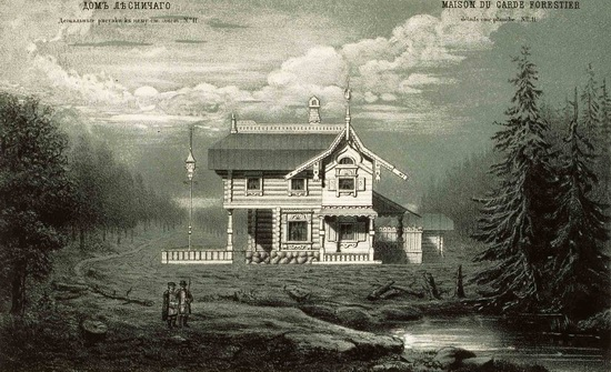The motives of Russian architecture in 1873-1880, picture 9