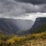 The most impressive river valley in Russia