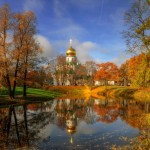 Golden Autumn in Tsarskoye Selo
