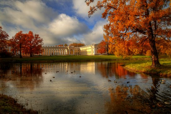 Golden Autumn in Tsarskoye Selo, St. Petersburg, Russia, photo 2