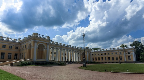 The interiors of the Alexander Palace in Tsarskoye Selo, Russia, photo 1